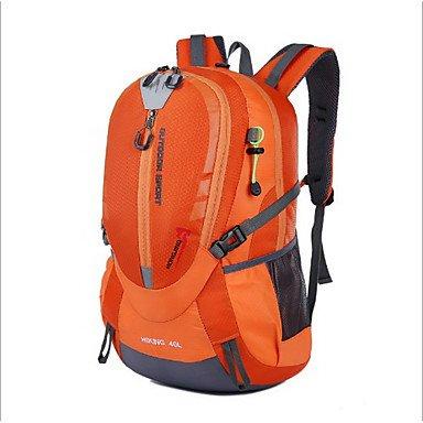 40 L Rucksack Camping & Wandern Draußen Wasserdicht Grün Rot Schwarz Orange Oxford Others Blue