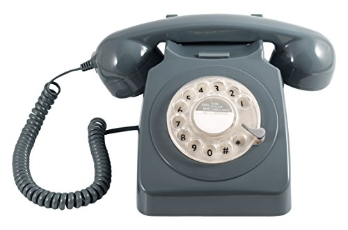 GPO 746 Rotary Telephone - Grey, [Importado de UK]