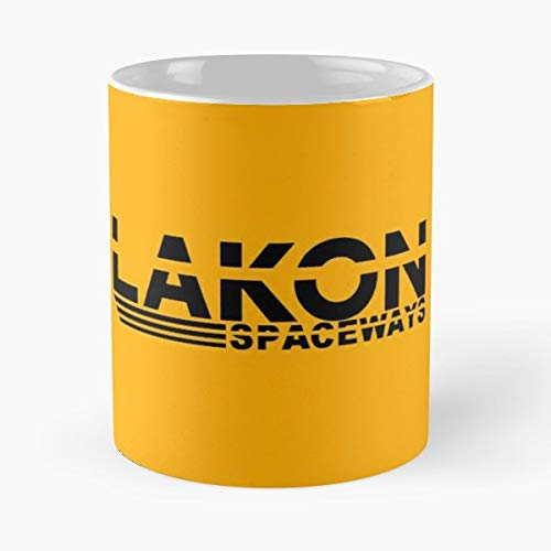 Logo Elite Dangerous Lakon - Best Gift Mugs Space Orange Black And White Mug Coffee For Gifts Cup Women Tumbler Cups Best Personalized Gifts -