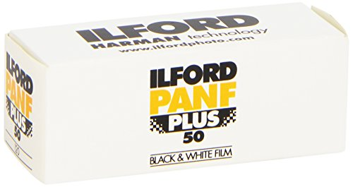 Price comparison product image Ilford Pan F Plus 50 ISO Black and White 120 Film