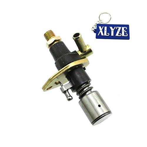 XLYZE Fuel Injector Pump No Solenoid for 186 186F 10HP Yanmar Diesel Engine  Motor L100