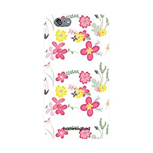 HomeSoGood Floral Boundaries Multicolor 3D Mobile Case For iPhone 6 (Back Cover)