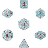 Polyhedral 7-Die Speckled Dice Set