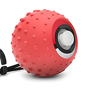 Keten Silikonhülle für Nintendo Switch Pokéball Plus, Anti-Rutsch Nintendo Switch Silikonschutzhülle für Nintendo Switch Poke Ball Plus Controller