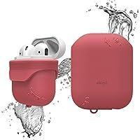 elago AirPods Funda de Silicona Impermeable [IP67 Rated Impermeable y una Prueba de Cubierta Polvo