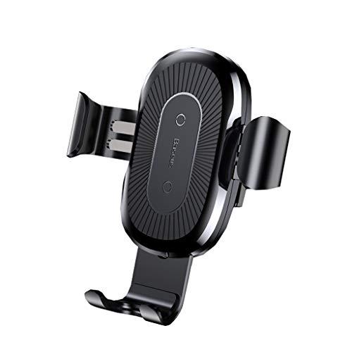 QTDS Die besten Auto Handyhalter Auto drahtlose Ladegerät Luftauslass Navigationsrahmen (Color : C) -