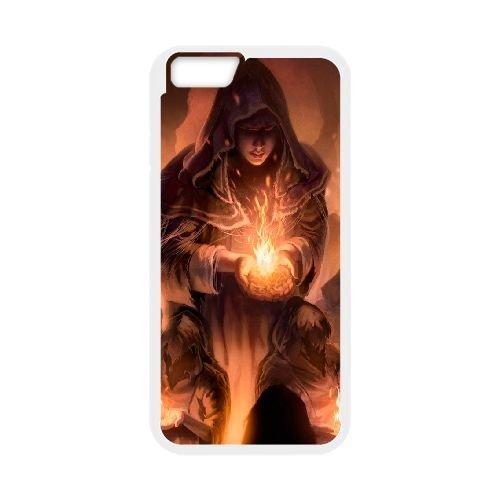 Dark Souls coque iPhone 6 4.7 Inch Housse Blanc téléphone portable couverture de cas coque EBDXJKNBO15252