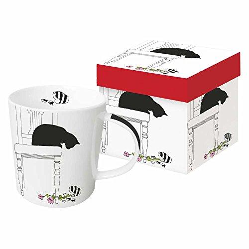 (Paperproducts Design Tasse in Geschenkbox, Blumenvase, 12,7 x 10,2 x 10,2 cm, mehrfarbig)