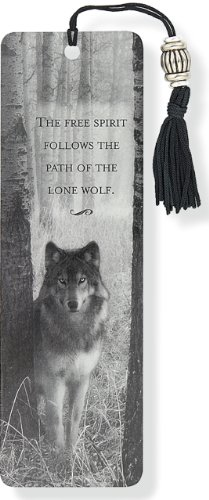 Wolf Beaded Bookmark