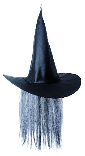 Widmann 8681S - Hexenhut mit (Schwarze Hexe Haaren Mit Hut)