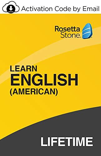 Rosetta Stone: Englisch (amerikanisch) lernen mit lebenslangem Zugang zu iOS, Android, PC/Mac, (Aktivierungscode per E-Mail)