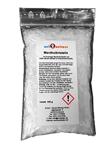 Mentholkristalle 100 g Beutel aus Minzöl