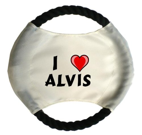personalised-dog-frisbee-with-name-alvis-first-name-surname-nickname