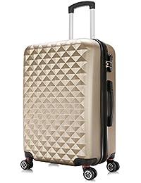 WOLTU #703 ABS Valise Bagage Rigide 4 Roues avec Extensible Volume Ultra léger