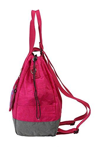 Keshi Leinwand neuer Stil Damen Handtaschen, Hobo-Bags, Schultertaschen, Beutel, Beuteltaschen, Trend-Bags, Velours, Veloursleder, Wildleder, Tasche Licht Lila