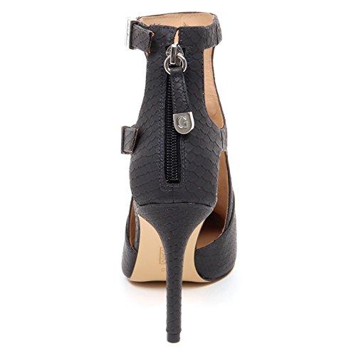 D2400 tronchetto donna GUESS scarpe nero/grigio scuro boot shoe woman Grigio scuro/Nero