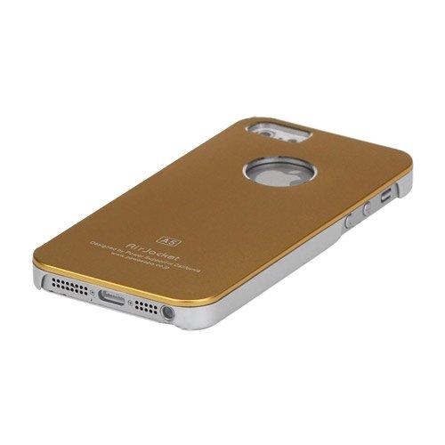 Minto Air Jacket Alucase für iPhone SE 5 5S Aluminium Metall Case Cover Schutzhülle Silber Gold