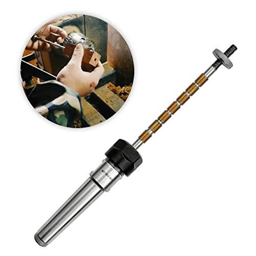 funnyfeng MK2 Drechselzubehör Mandrel Pen Kits Kugelschreiber Drehkugelschreiber, Dornschoner Paket Für Drehmaschine Mit Antrieb Und Reitstock-Morsekegel Für Die Meisten Drehmaschinen