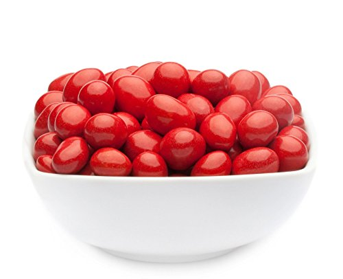 CrackersCompany \'Red Choco Peanuts\' (1 x 750g in ZIP Beutel) Erdnüsse in Vollmilchschokolade Rot - Rot ummantelte Erdnüsse in Vollmilchschokolade