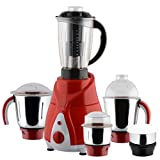 Anjalimix Spectra 1000-Watts Mixer Grinder with 5 Jars (Red)