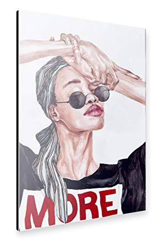 artboxONE Alu-Print 90x60 cm Live More von Künstler Sophia Novosel