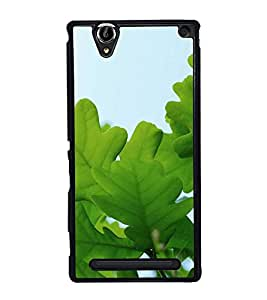 Fuson Designer Back Case Cover for Sony Xperia T2 Ultra :: Sony Xperia T2 Ultra Dual SIM D5322 :: Sony Xperia T2 Ultra XM50h (Leaves Green Leaves Foliage Twigs Branches)