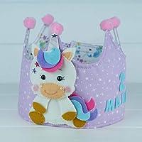 Corona Cumpleaños Unicornio