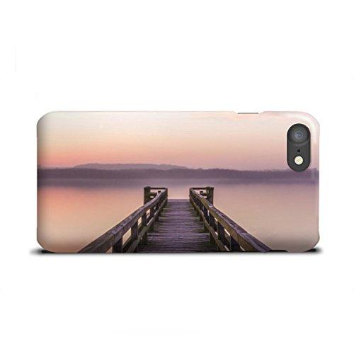 artboxONE Apple iPhone 7 Premium-Case Handyhülle Steg am Morgen von Dennis Stracke - Dennis Sommer