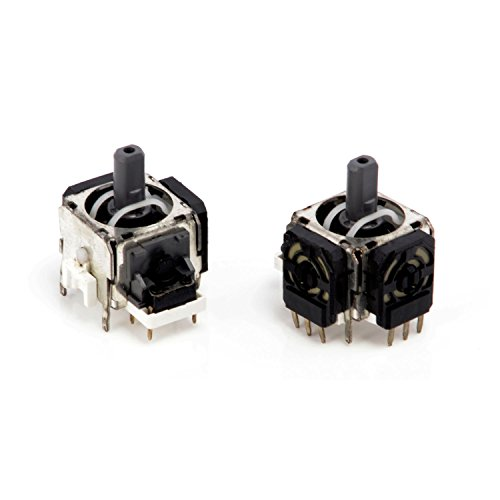 Neuftech 2 x 3D Joystick Analog Sticks Sensor Modul Ersatz für PS4 Playstation 4 Controller