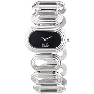 Dolce & Gabbana DW0616 – Reloj analógico de Cuarzo para Mujer con Correa de Acero Inoxidable, Color Plateado