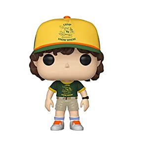 Funko Pop Dustin con gorra de campamento (Stranger Things – Tercera temporada 804) Funko Pop Stranger Things