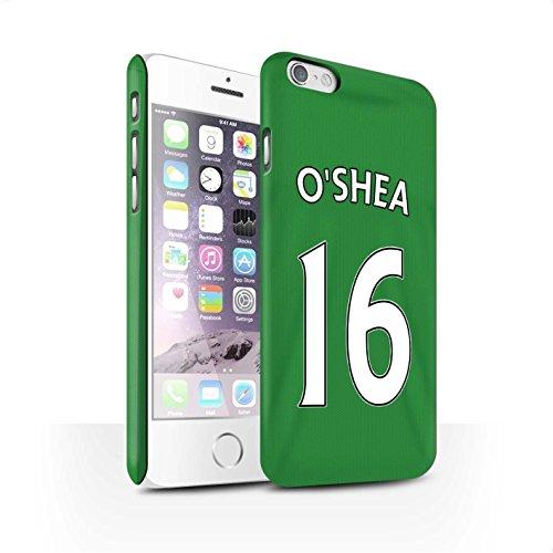 Officiel Sunderland AFC Coque / Clipser Matte Etui pour Apple iPhone 6 / Pack 24pcs Design / SAFC Maillot Extérieur 15/16 Collection O'Shea