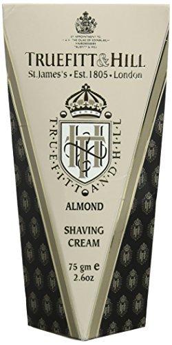 Truefitt & Hill Almond Shave Cream Tube 75gm by Truefitt & Hill (Shave Almond Cream)