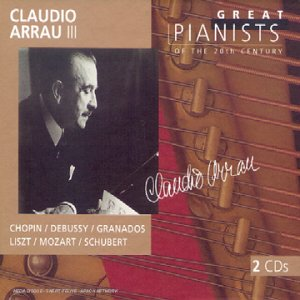 Great pianists of the 20th century, Claudio Arrau (III)