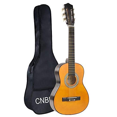 CNBLUE 1/4 Größe Gitarre Konzertgitarre fuer Kinder und Anfänger (30 zoll Klassische Gitarre)