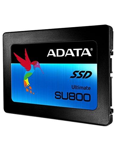 ADATA SU800 512GB 3D-NAND 2,5 Zoll SATA III High Speed Solid State Drive mit Lesen & Schreiben bis zu 560MB/s & 520MB/s (ASU800SS-512GT-C)