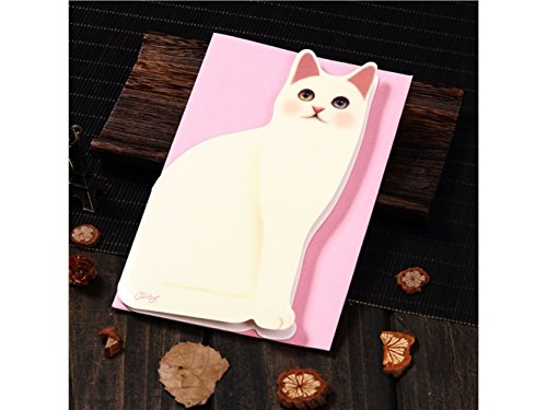 (3D Pop UP Grußkarten 1 pc Katze Form Grußkarte handgemachte Karte Weihnachten Einladung Geburtstag Karte (Fettkatze) Jubiläum Einladung Hochzeit)