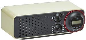 TV Das Original 02989 - Radio vintage Maxx Cuisine anni '50 con timer, colore: Vaniglia by in-trading Handelsgesellschaft mbH