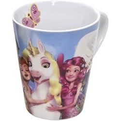 Joy Toy 118099 - Taza, diseño de unicornio de Mia y yo, en caja de regalo, 11 x 9 x 10 cm