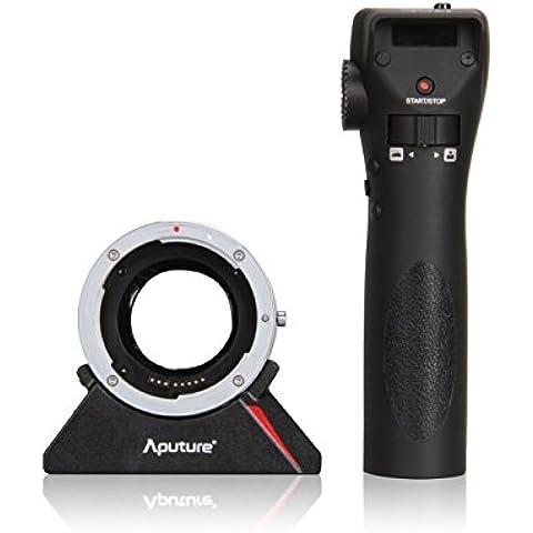Aputure DEC adaptador Enfoque Remoto Inalámbrico para Cámaras Canon EF, EF-S y Sony E-Mount