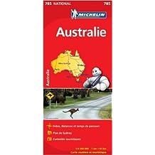 Carte NATIONAL Australie de Collectif Michelin ( 10 janvier 2012 )