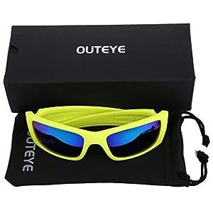 OUTEYE Gafas del Ciclismo UV400 Sport del Aire Libre para Ciclismo Esqui Moto Climb Mujer Unisex