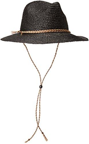 Brixton Men's Bodhi Fedora Hat, Black, Small