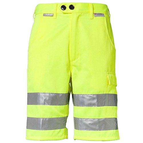 """Planam Shorts """"Warnschutz"""" Größe XXXL in gelb, 2014064"""