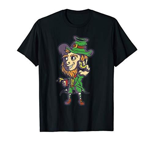 St Pattys Tag-t-shirts (St Patricks Day Kobold Shirt Bierpong Irland Kleeblatt)