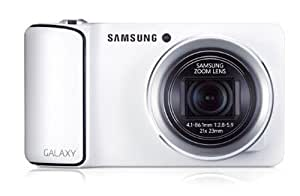 Samsung Galaxy Camera - White (16MP, 21x Optical Zoom, Android 4.1 Jelly Bean OS) 4.8 inch HD Touch LCD