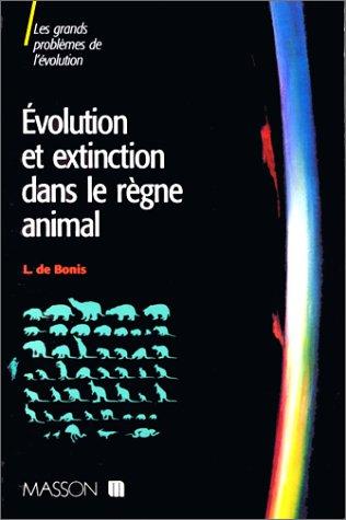 Evolution et extinction dans le rgne animal