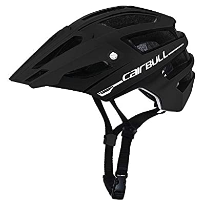 Cairbull Men/Women 2019 new In-Mold Cycling Helmet with Sun Visor 56-61cm Road Mountain Bike Pneumatic TT Racing Riding Helmet by Cairbull