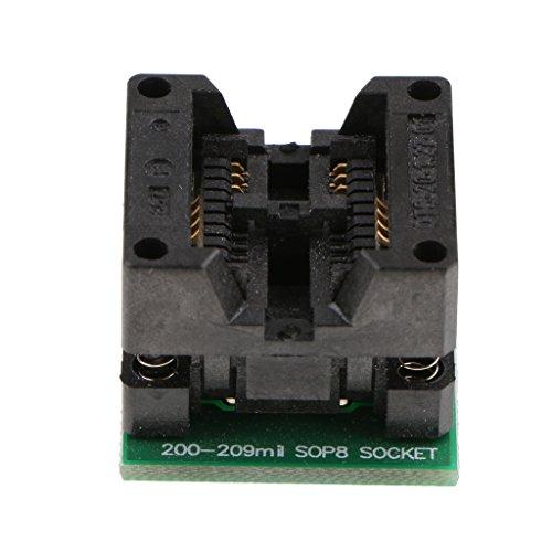 MagiDeal 208mil Soic8 Sop8 Zu Dip8 Programmierer Adapter IC Test Buchse Konverter-Modul