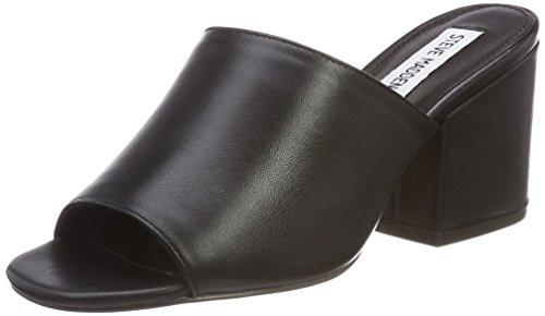 Steve Madden Womens Open Toe Heels (Steve Madden Damen Dalis Sandal Pantoletten, Schwarz (Black), 39 EU)